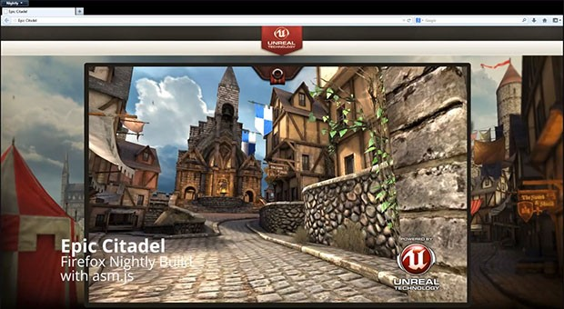 Mozilla shows off Epic Citadel web version ported with Unreal Engine 3 (video)