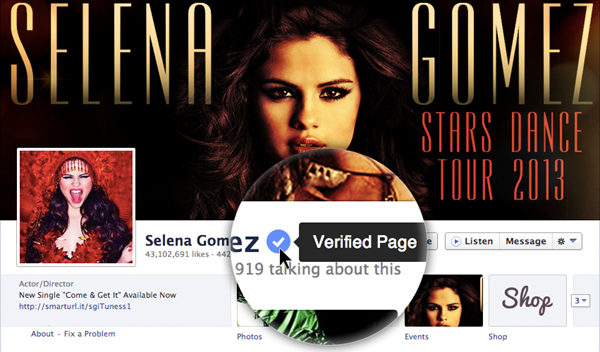 Facebook introduces verified Pages and Profiles