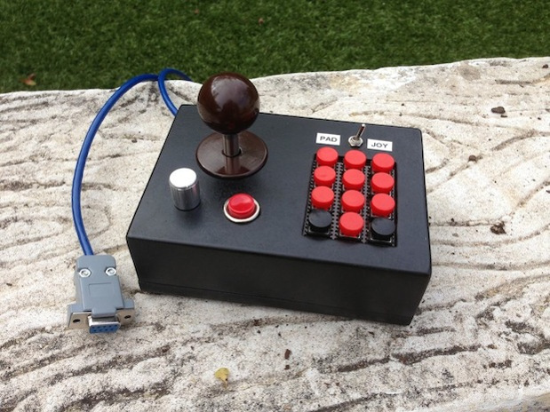 Allinone Atari 2600 controller crafted to curtail retro gaming clutter