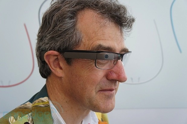 Google Glass &#8216;prescription edition&#8217; makes a cameo at Google I/O