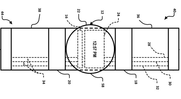 Google files patent for smartwatch with Glass-like touchpads and functionality