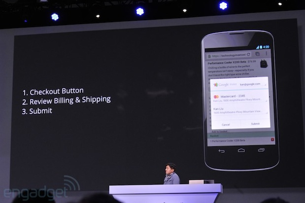 Google announces new Checkout button, oneclick purchases onthego