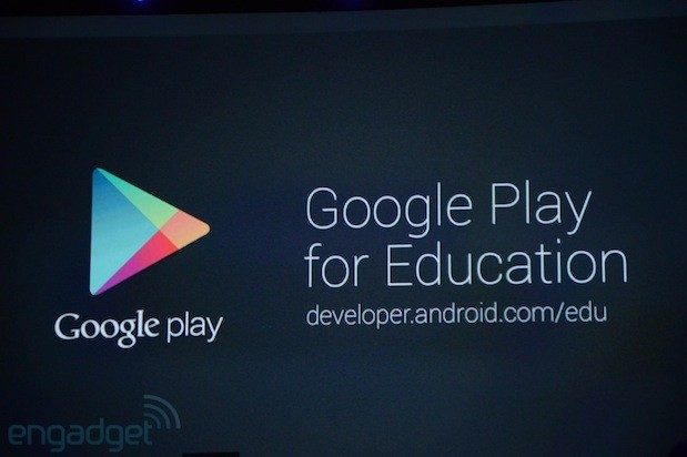 Google intros Play for Education, a curated portal for apps and books