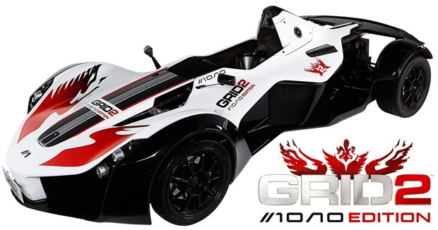 GRID 2 Mono Edition attaches a 125,000 sports car to a 40 game