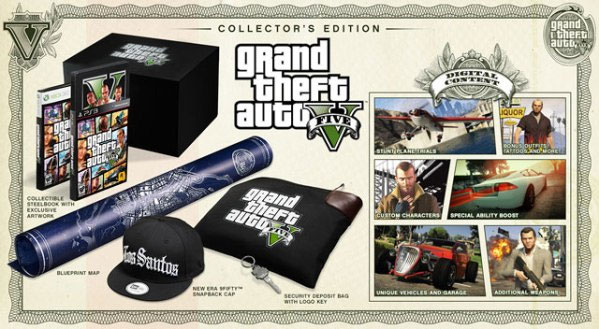 Grand Theft Auto 5 collector's ...