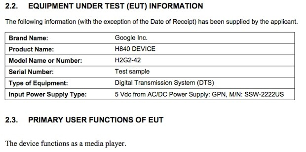 Google-built media player hits the FCC, reveals only a Hitchhiker&#8217;s Guide reference