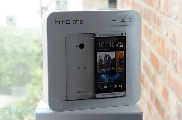 Engadget UK Giveaway win an HTC One courtesy of Mobile Madhouse
