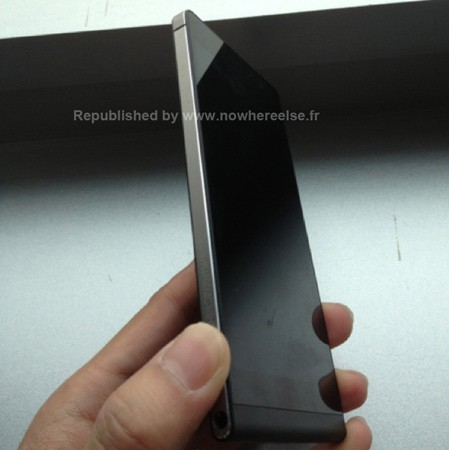 Huawei P6U06 super slim smartphone poses for more leaked pictures, this time in black