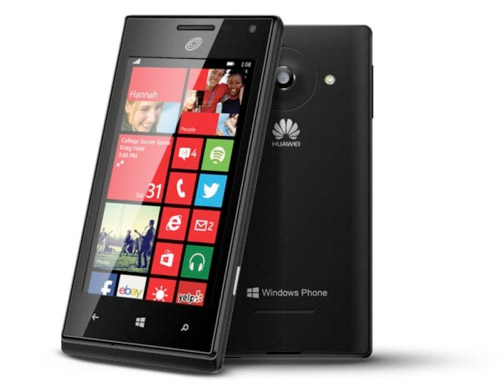 Huawei W1, its first Windows ...