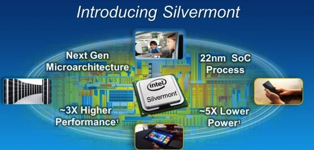 Intel Silvermont: next-gen mobile CPU&#8217;s three times as fast and more energy efficient