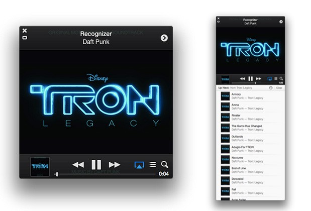DNP  iTunes 1103 released with enhanced MiniPlayer, multidisc albums