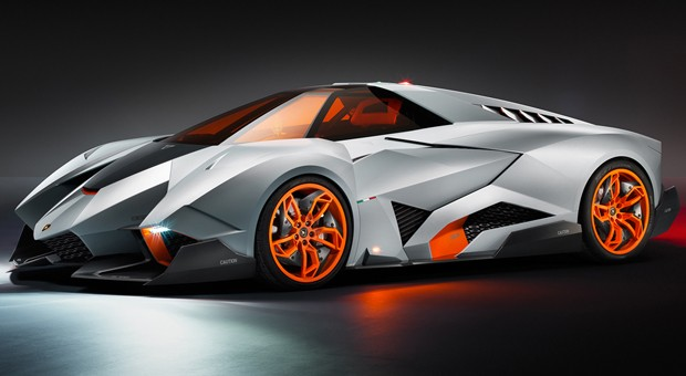 Lamborghini Egoista centers entirely around its selfish and very fortunate driver