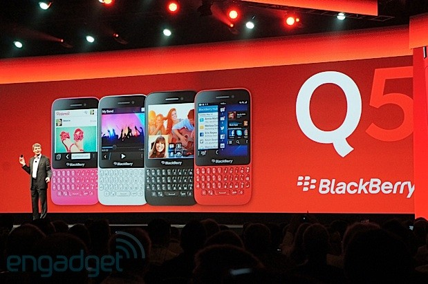 Blackberry Q5 to make early debut in the…