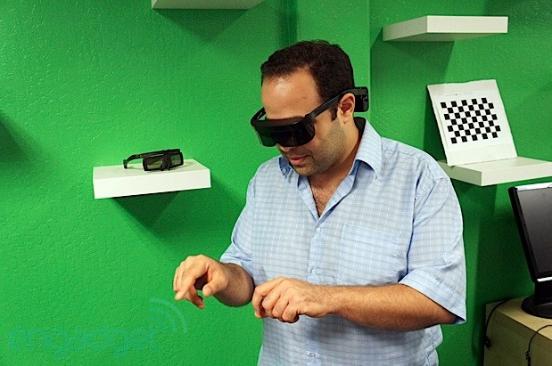 Atheer Labs unveils 3D augmented reality mobile platform and a natural human UI