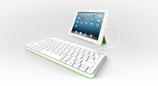 Logitech releases $60 iPad keyboard wired for Lightning or 30pin connectors