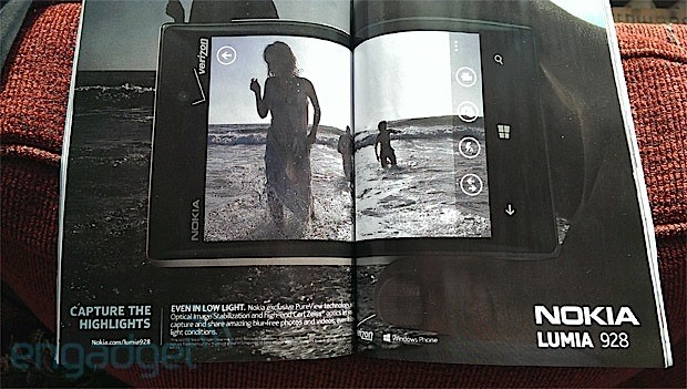 Nokia Lumia 928 shows off PureView, OIS and CarlZeiss goodies in magazine spread