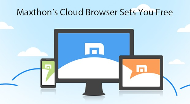 maxthon masthead - Browser that adds local network file transfers for Android and Windows