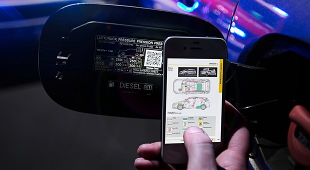MercedesBenz wants QR codes on cars to speed up the rescue process