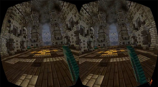Minecraft lands unofficial Oculus Rift support (video)