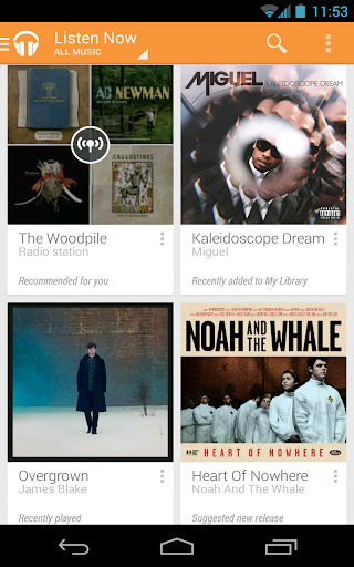 Google Music All Access Android  USonly rollout is just the start