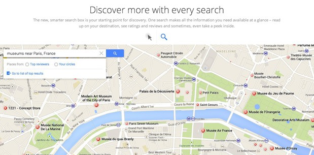 Signup page for revamped Google Maps shows off plenty of new features