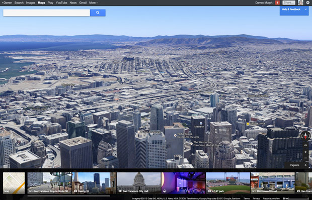 Redesigned Google Maps handson vectorbased, more personal and coming soon to mobile