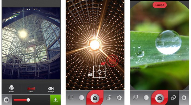 Olloclip brings distortion correcting camera app to its threeinone iPhone lens