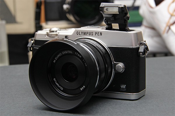 Olympus PEN EP5 photos and specs leak along with new lenses