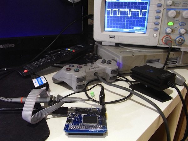 PSIO prototype brings PS1 backups to the console, no burned CDs