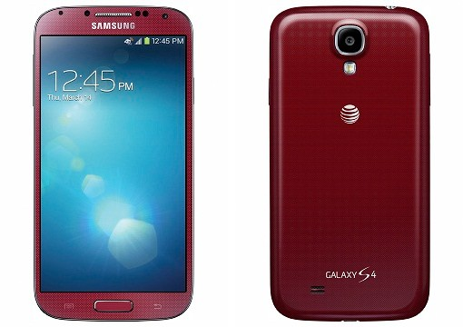 AT&T to carry Samsung Galaxy S 4 in Aurora Red on June 14th