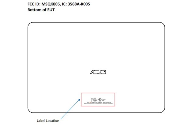 ASUS K005 tablet hits the FCC, Snapdragon S4 Pro hints at top-tier performance