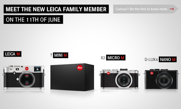Leica teases Mini M camera, scheduled to debut on June 11th