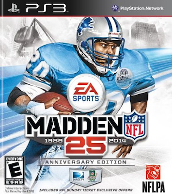 Madden 25 Anniversary Edition includes NFL Sunday Ticket, exclusive to Amazon