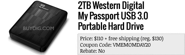 Slickdeals' best in tech for May 1st Lenovo IdeaPad Y500 and Western Digital My Passport