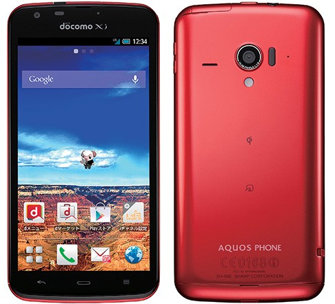 Aquos Phone Zeta SH-06E packs a 1080p IGZO Screen, 1.7GHz quad-core Snapdragon 600