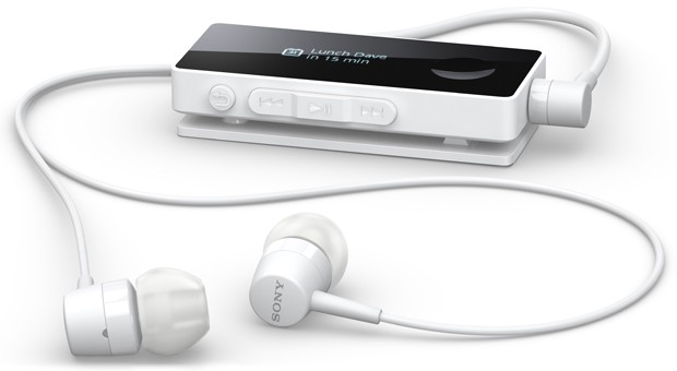 Sony SBH50 Bluetooth headset touts NFC and a smart remote (video)