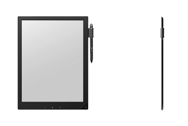 Sony reveals prototype 13.3-inch e-ink slate with stylus, aims to put it in students' bags