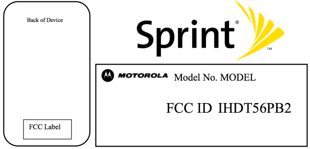 Motorola XT1056 gains FCC credentials for Sprint