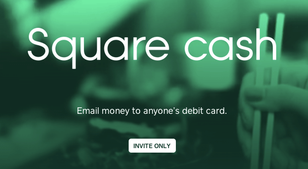 Square Cash appears on inviteonly site, lets you send money with an email