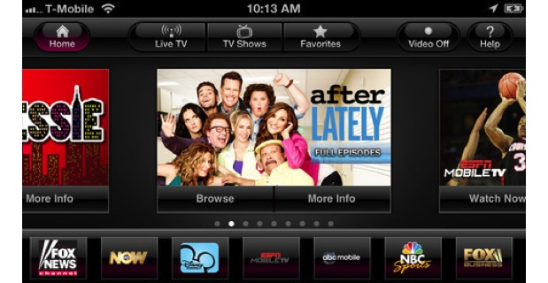 DNP TMobile's official TV app now available for iOS