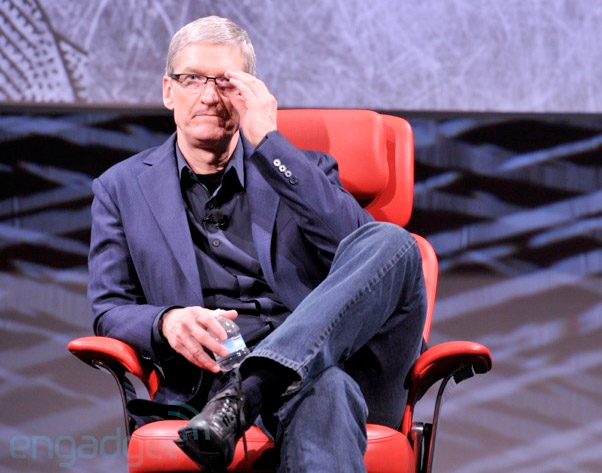 Apple CEO Tim Cook interview at D11 the liveblog