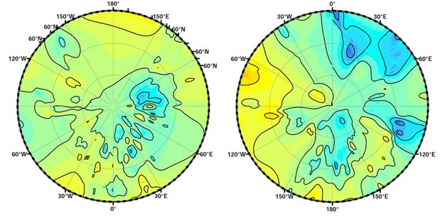 DNP NASA creates the first topographic map of Titan, Saturn's largest moon