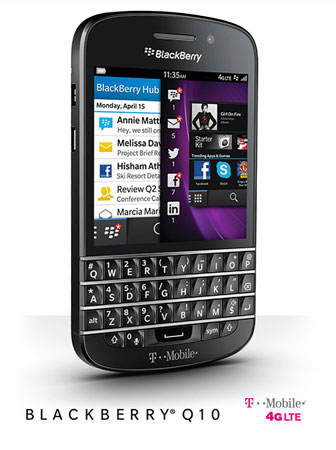 BlackBerry Q10 arrives at TMobile June 5th for $100 down