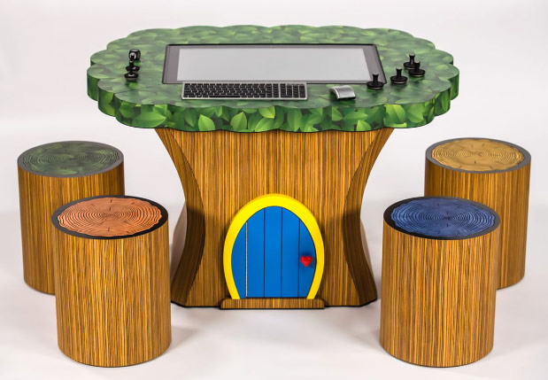 Lenovo's IdeaCentre Horizon Table PC finds a home in Treehouse workstation, other funky furniture