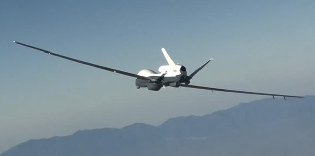 Northrop Grumman's MQ-4C Triton long-range drone completes first flight (video)
