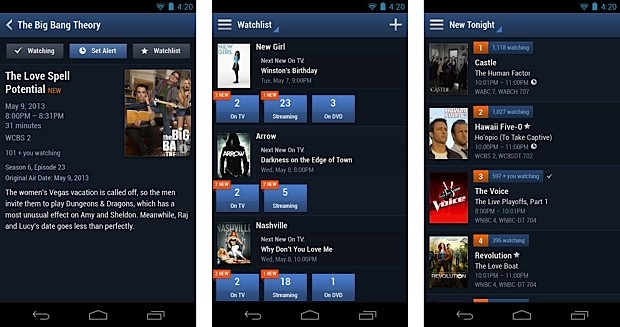 TV Guide redesigns OneStop TV app for Android, catches up with iOS version