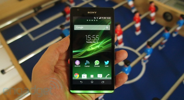 Sony Xperia SP review lights, camera, performance