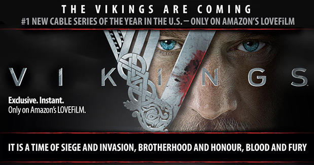 EDIT Lovefilm acquires exclusive rights to The Vikings in UK and Germany