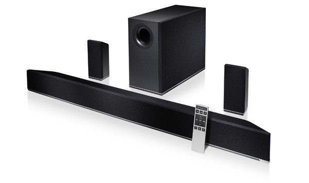 Vizio's 42-inch 5.1 soundbar setup available available now, costs $330