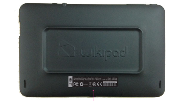 Wikipad's 7inch gaming tablet makes it to the FCC